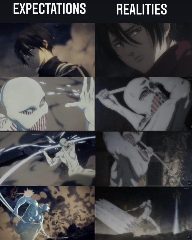 【画像】MAPPA版テレビアニメ「進撃の巨人」、流石に作画がヤバイ・・・